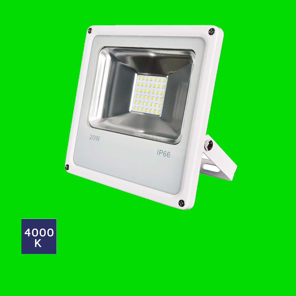 Essential LED Flood Lights (4 Pack) 20W 15-04-81 - Eden illumination - LED Lighting & Kitchen Lighting - Fife, Scotland