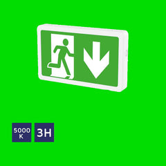 Emergency Surface Mount Exit Box 43-10-72 - Eden illumination - LED Lighting & Kitchen Lighting - Fife, Scotland
