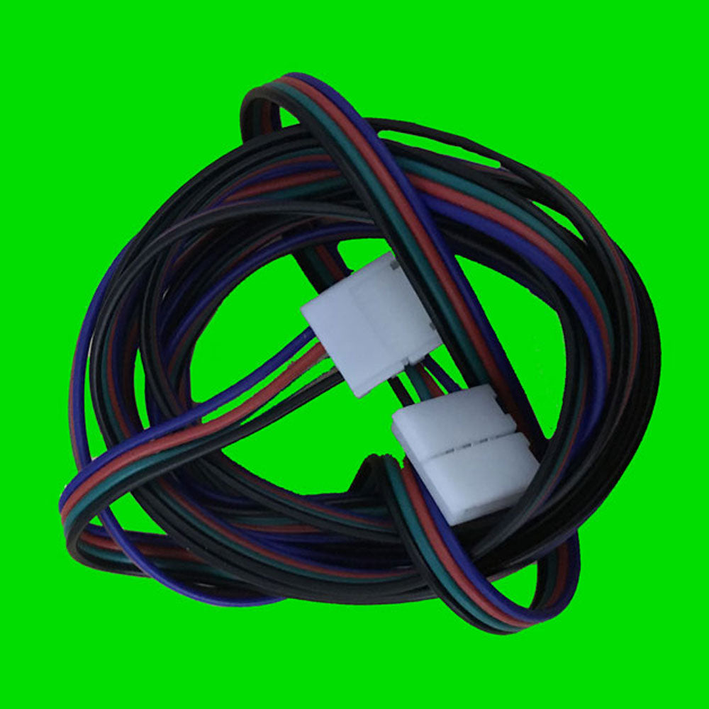 5050 2m RGB LED Strip Wire Connector - Eden illumination - Kitchen Lighting & Commercial Lighting
