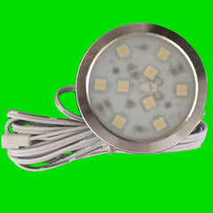 Disc-03R LED Cabinet Light -Front - Eden illumination