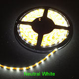 Neurtral White 5m LED Strip Lights - 60 LED's per metre