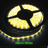 Warm White 5m LED Strip Lights - 60 LED's per metre