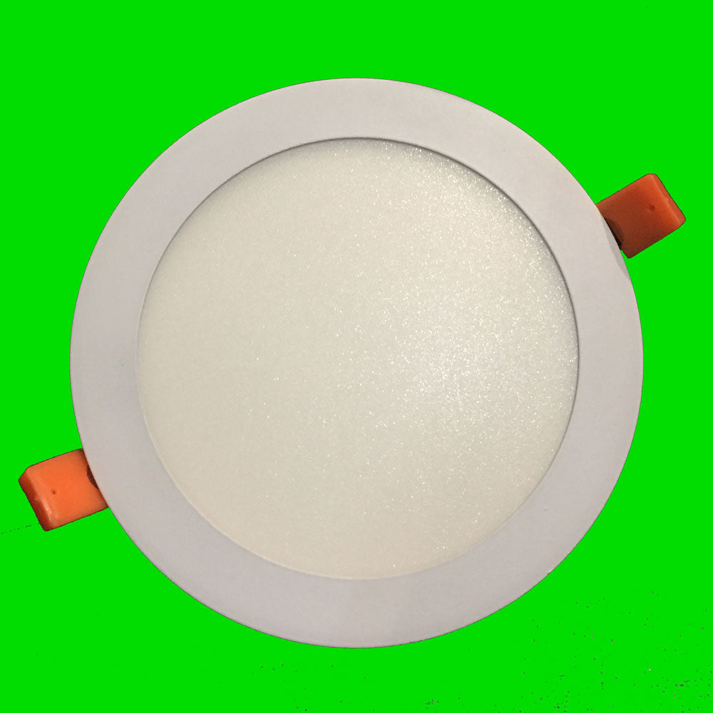 12W Mini Panel LED Down Lights - Round Eden illumination