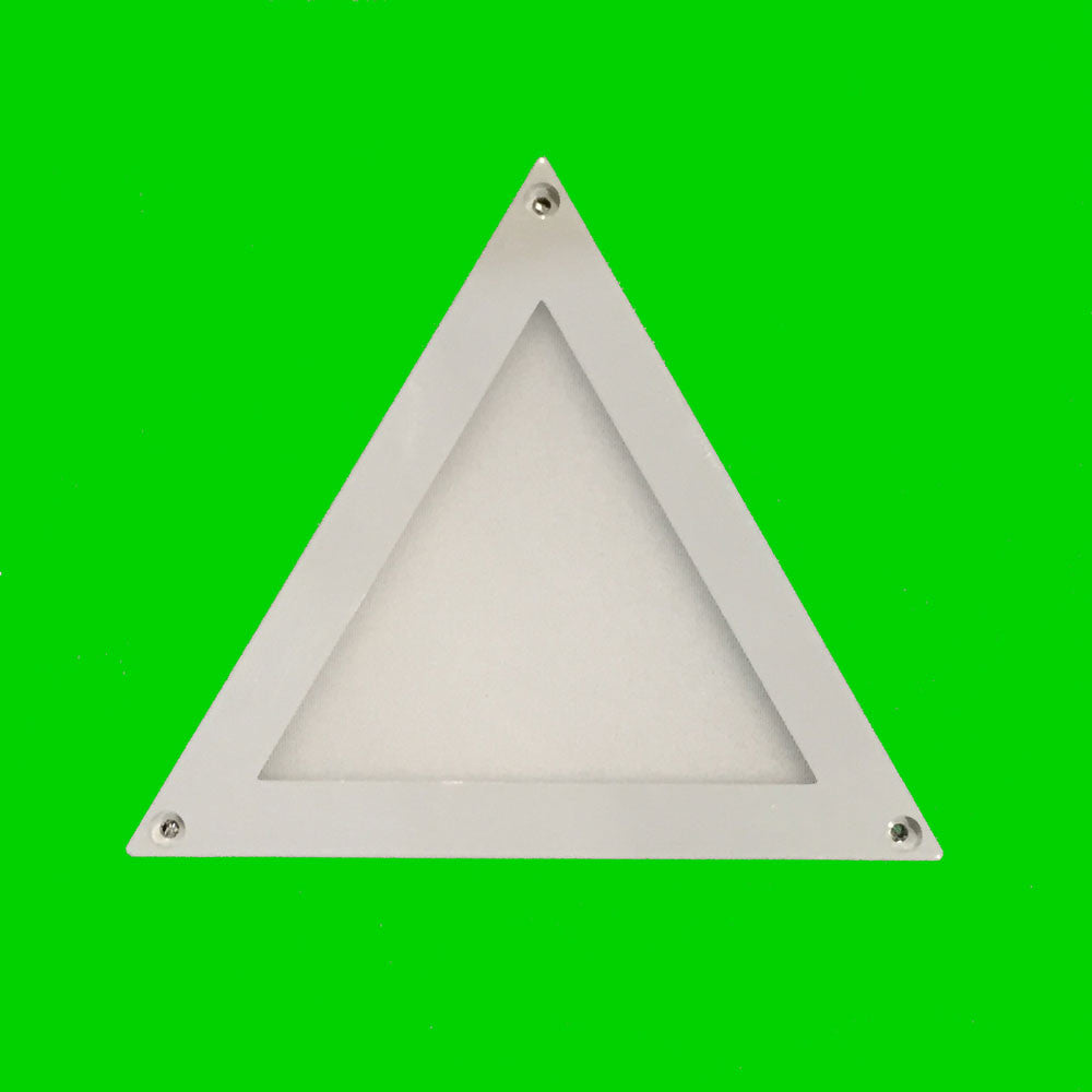 2W Triangular LED mini panel cabinet light Eden illumination