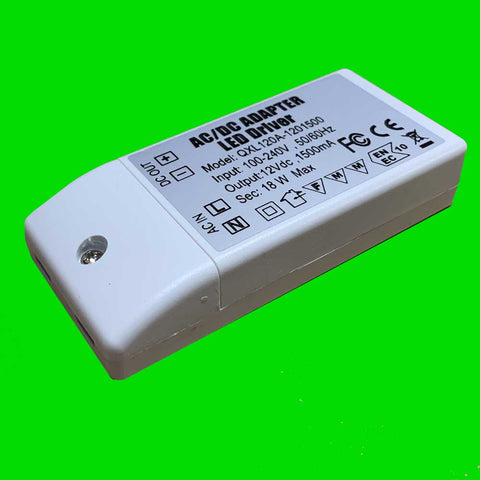 18W Slim Watt Power Supply 12V