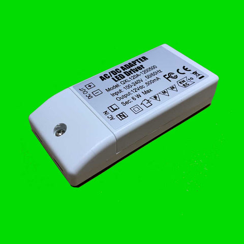 6W Slim Watt Power Supply 12V
