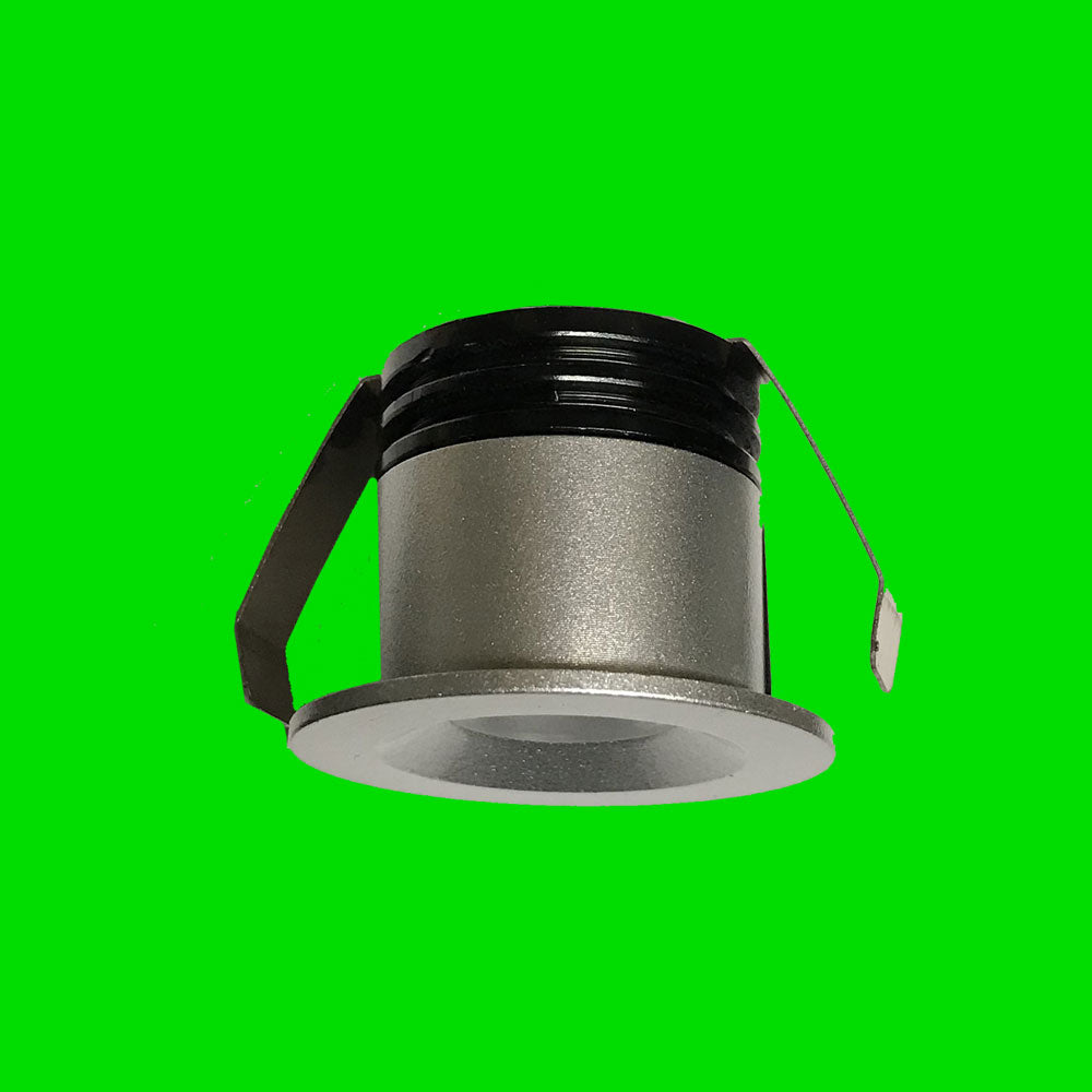 Minos 2 - 3W Silver Mini Down Light - Eden illumination - Kitchen Lighting & Commercial Lighting
