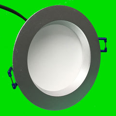Down Light - Nova - CCT - 9W Fire Rated - Silver - Eden illumination - LED Lighting & Kitchen Lighting - Fife, Scotland