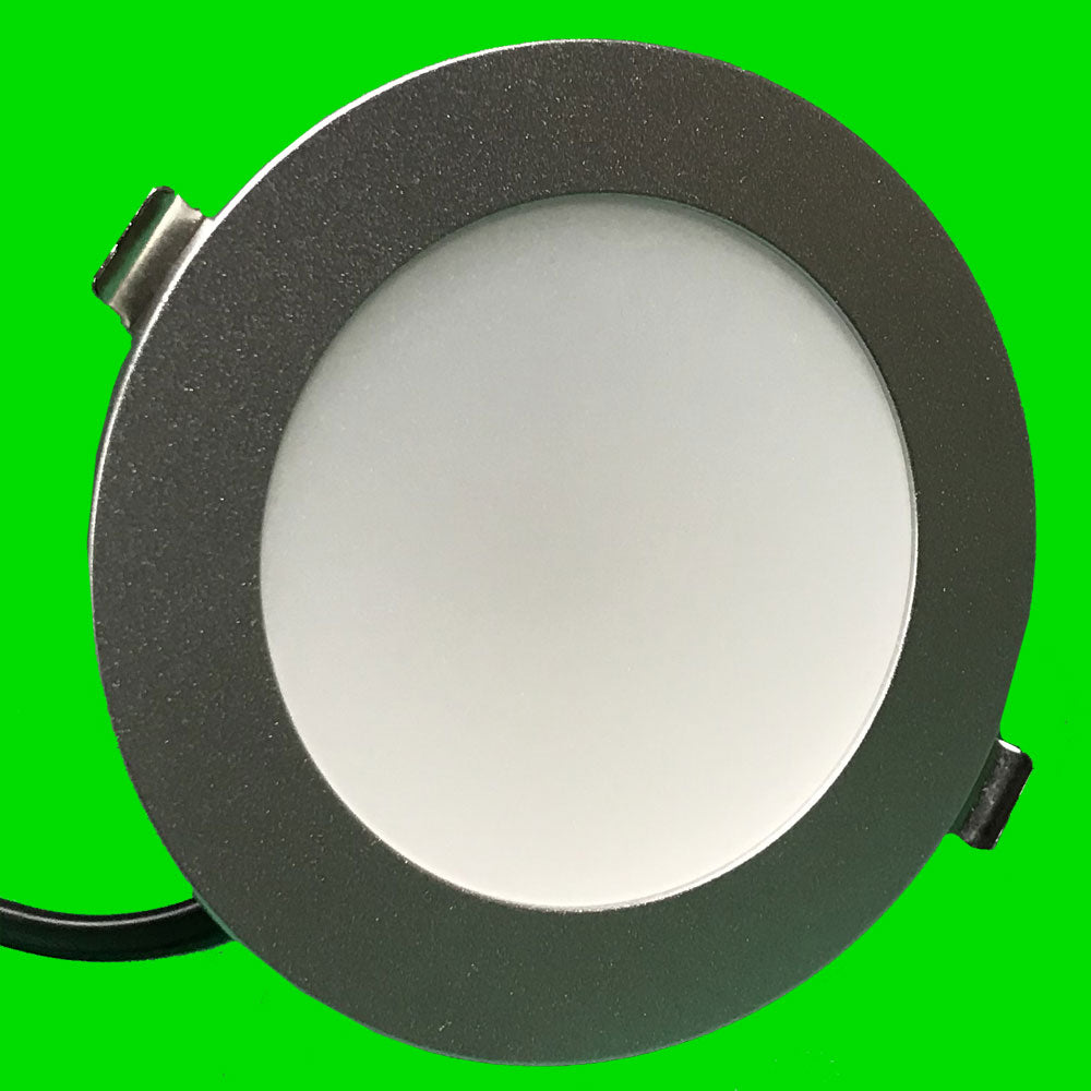 Down Light - Octa 2 - CCT - 10W Silver NEW LOWER PRICE! - Eden illumination - Kitchen Lighting & Commercial Lighting