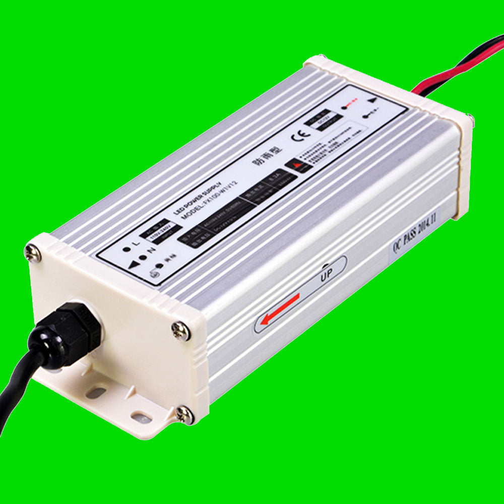 100W 12V LED Power supply for LED Strip, LED Nato, LED Wardrobe rails from Eden illumination