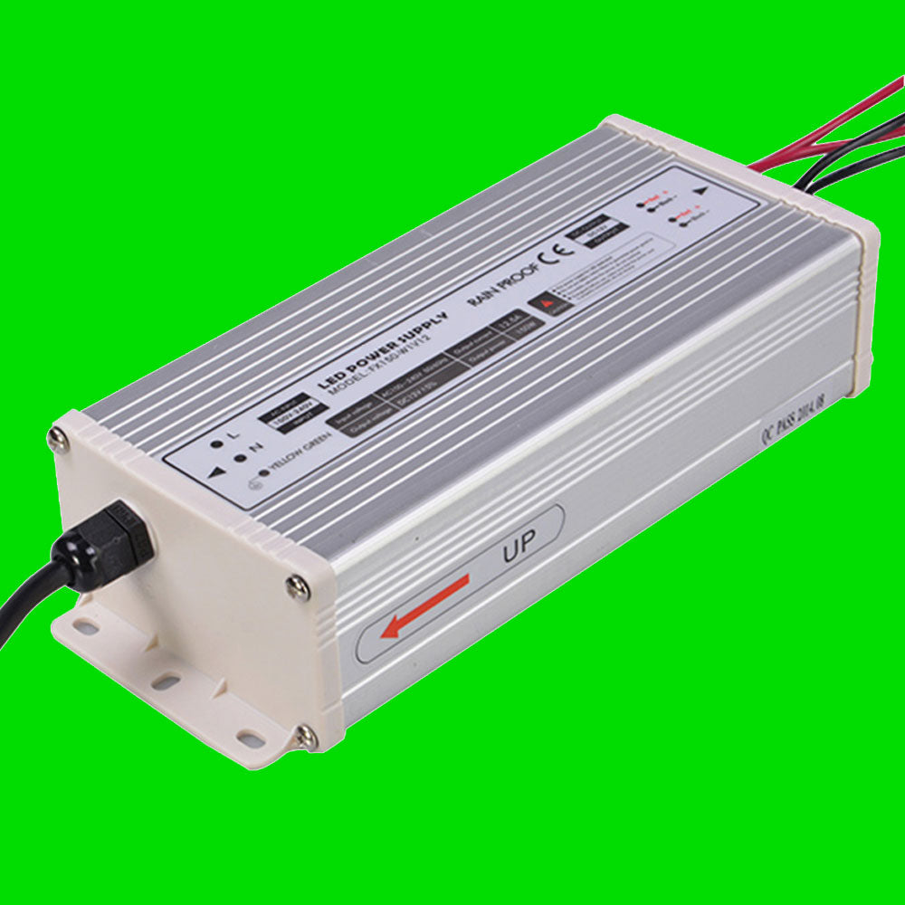 150W 12V LED Power supply for LED Strip, LED Nato, LED Wardrobe rails from Eden illumination