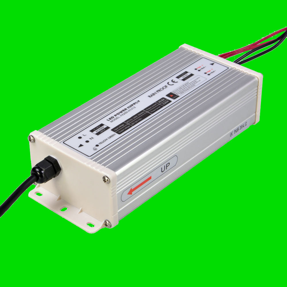 250W 12V LED Power supply for LED Strip, LED Nato, LED Wardrobe rails from Eden illumination