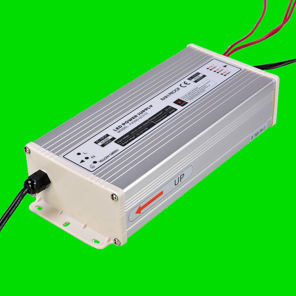 350W 12V LED Power supply for LED Strip, LED Nato, LED Wardrobe rails from Eden illumination