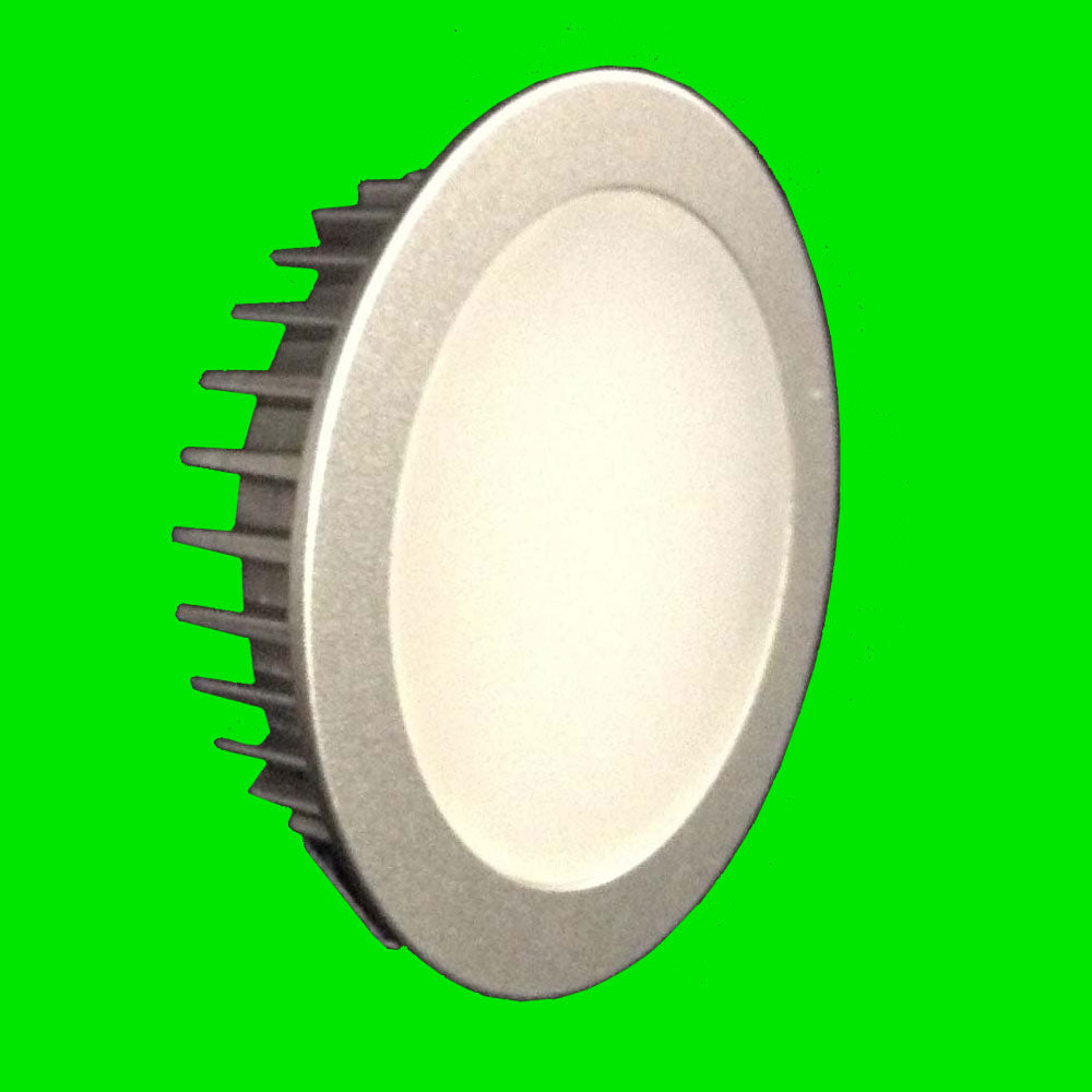 Cabinet LED Down Light - 4.5W Fazer 400 Lumen  Recessed or Surface Mounted silver