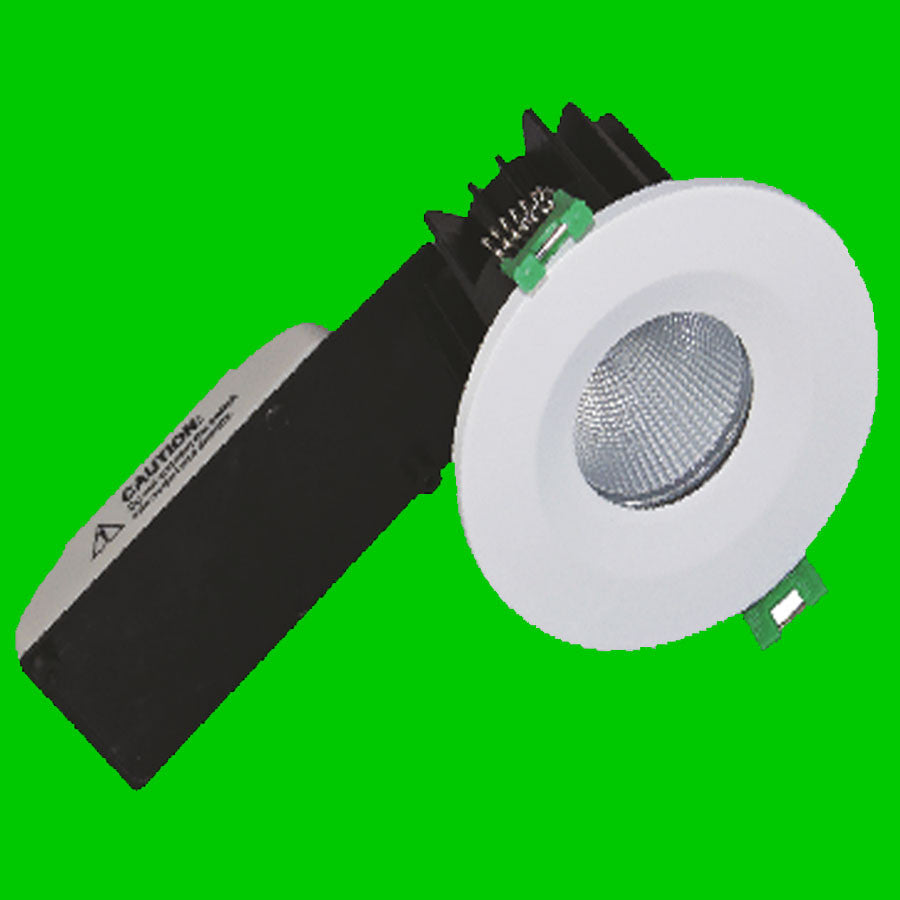 LED Down Light - 9W 780 Lumen Fire rated COB LED 40 Degree IP65