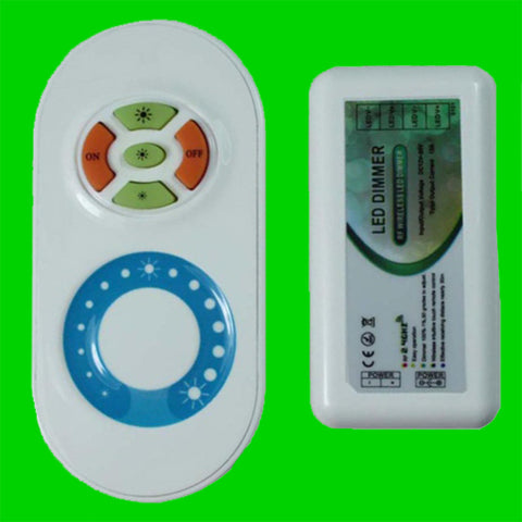 Touch Wireless Dimmer Remote for Single Colour LED Strip - 1 Zone