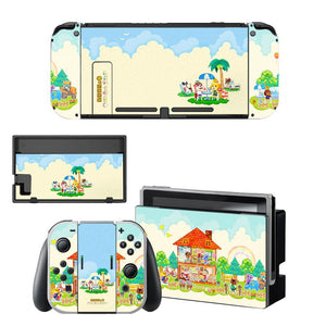 Stickers décoratif Animal Crossing Nintendo Switch - Mon Accessoire Inutile