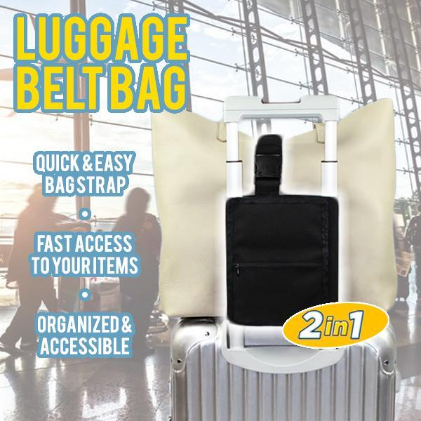 2 in 1 Luggage Belt Bag
