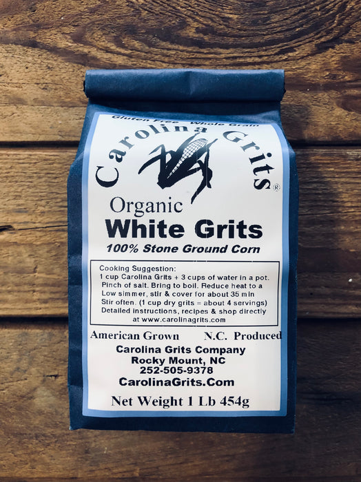Organic White Grits (16oz) - limited supply