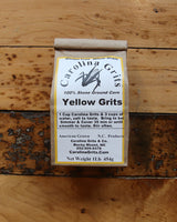 Traditional Stone Ground Yellow Grits (16oz)