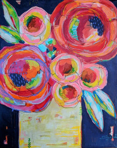 (Thursday Open Studio)  Mixed Media Florals with Henry Matisse