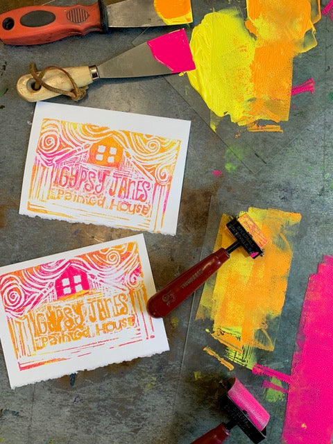 (Thursday Open Studio) All about Print Making