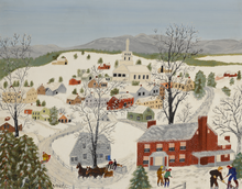 Load image into Gallery viewer, Folk Art with Grandma Moses