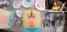 Load image into Gallery viewer, Birthday Cake Canvas Paint on Demand