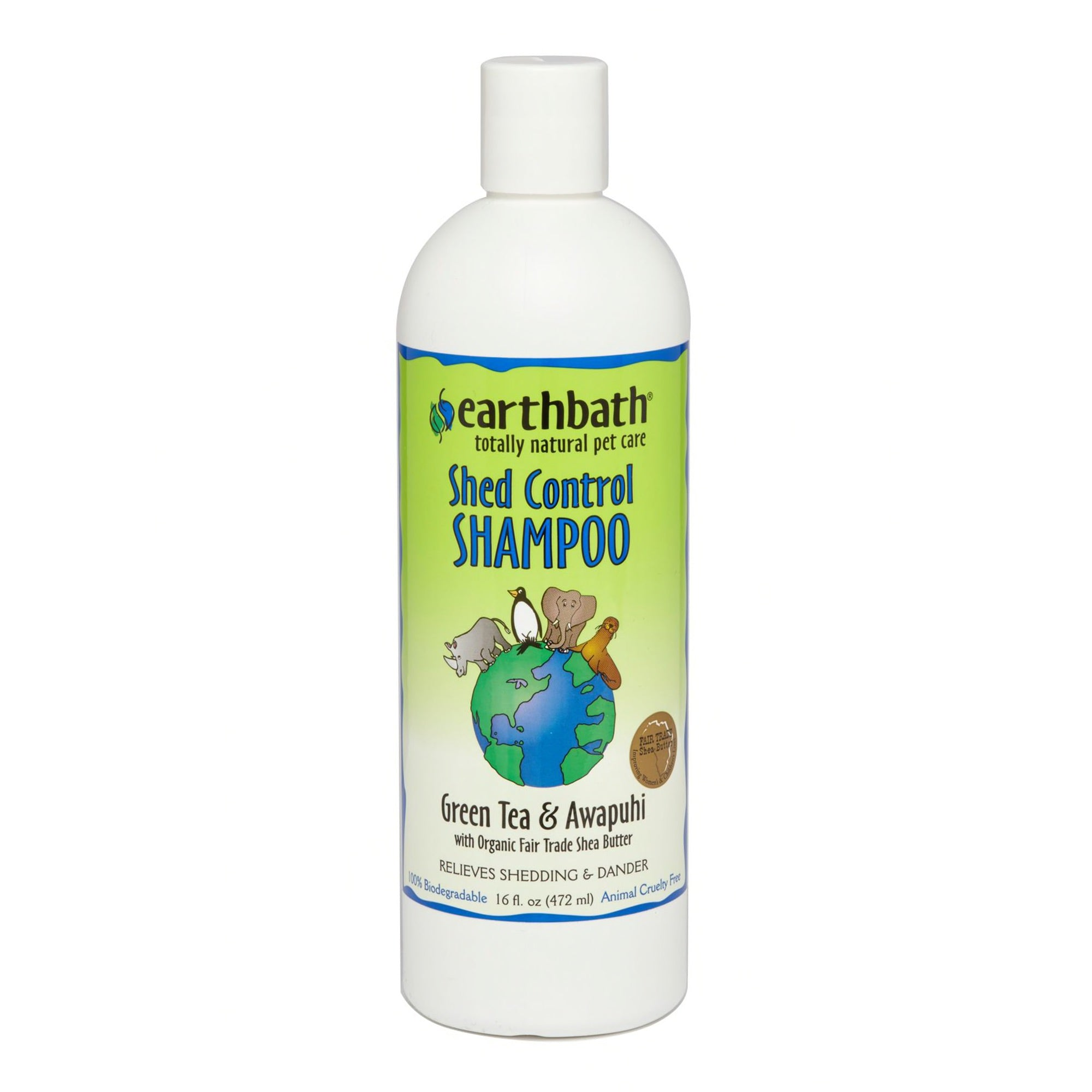 Earthbath - Shed Control Shampoo