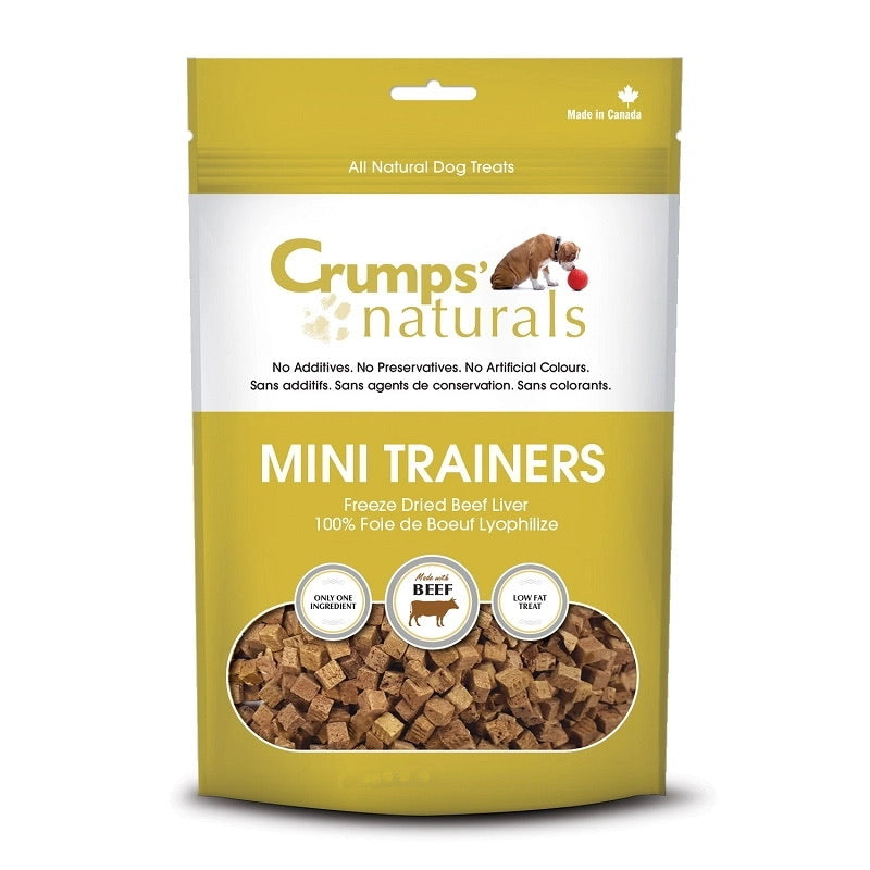Crumps' Naturals - Beef Liver Mini Trainers 3.7oz