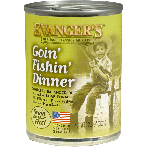 Evanger's - Goin' Fishin' Dinner (cat)