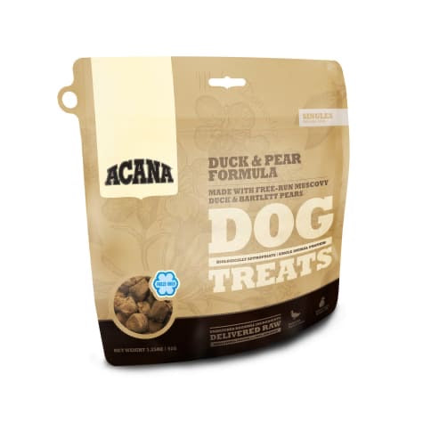 Acana - Duck & Pear Dog Treats 3.25oz