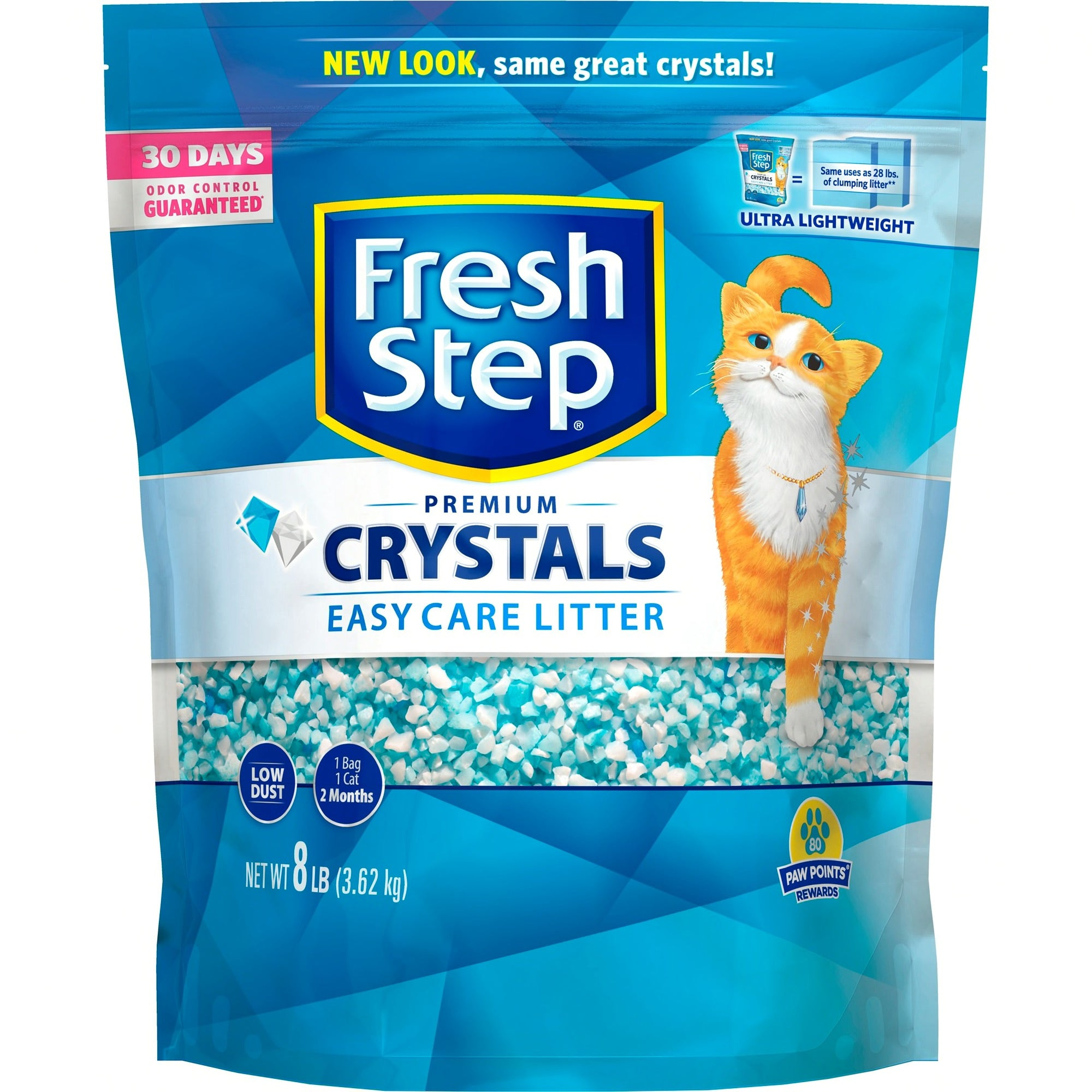 Fresh Step - Crystals 8lb.
