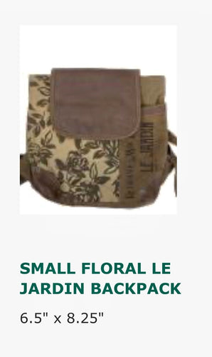 Bags-Floral Le Jardin Backpack