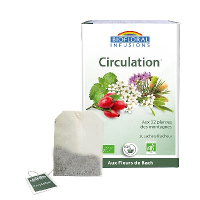 Infusion Auvergne Circulation 20sach Biofloral