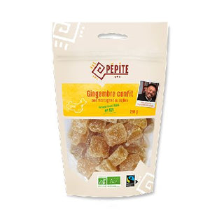 Gingembre Cubes 250g  Direct Producteurs