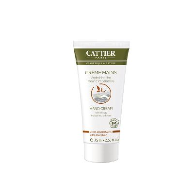 Creme Main Nourrissante 75ml Cattier