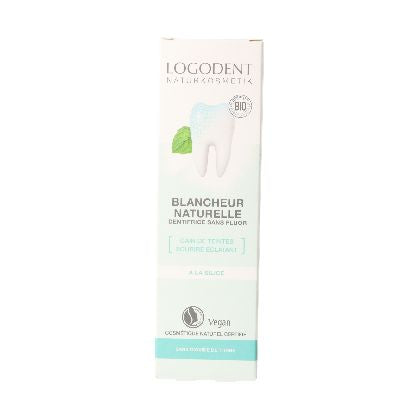 Dentifrice Blancheur Naturelle 75ml Logona