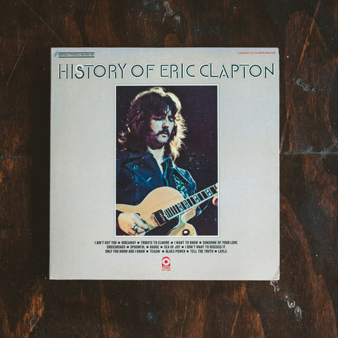 Clapton, Eric - History of Eric Clapton (Pre-Loved)