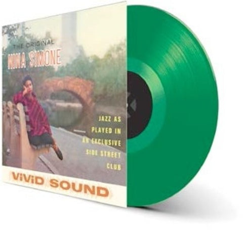 Simone, Nina - Little Girl Blue (Green Vinyl, Limited Edition, 180 Gram, Remastered)