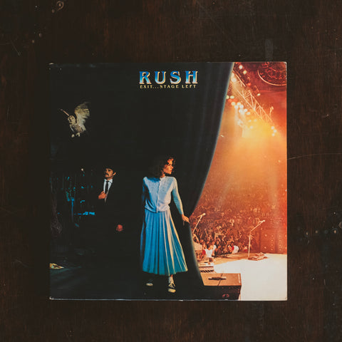 Rush - Exit Stage Left (Pre-Loved)