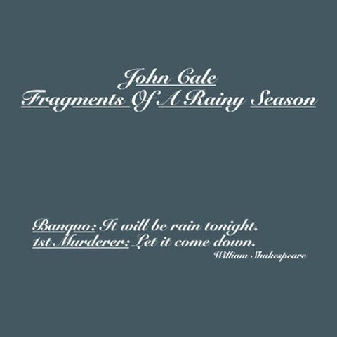 Cale, John - Fragments of a Rainy Season