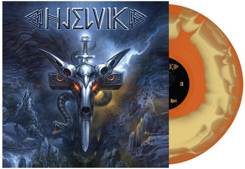 PRE-ORDER - Hjelvik - Welcome to Hel (IEX) (Orange Mustard Swirl) (11/20)