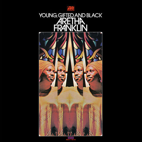 Franklin, Aretha - Young, Gifted And Black (Orange Vinyl)