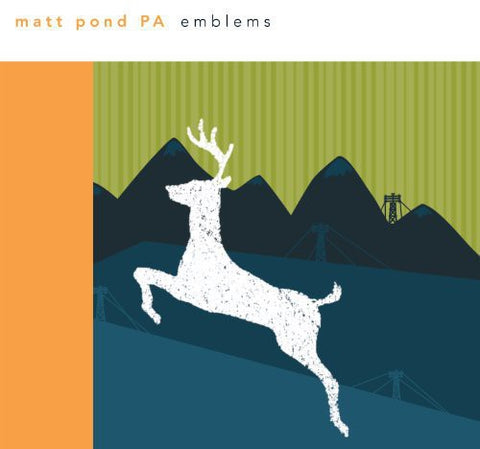 matt pond PA - Emblems (180 Gram, Color Vinyl, Digital Download)