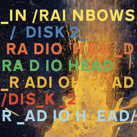 Radiohead - In Rainbows (180 Gram Vinyl)