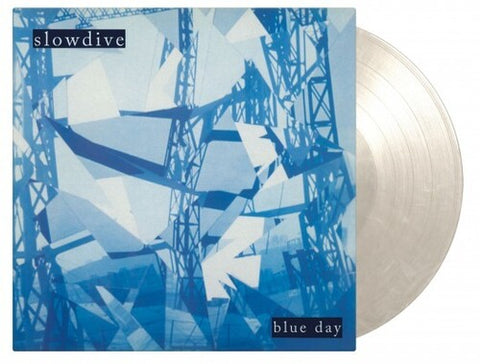 Slowdive - Blue Day (Limited 180-Gram White Marble Colored Vinyl) (Import)
