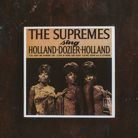 Supremes, The - Supremes Sing Holland Dozier Holland (Pre-Loved)