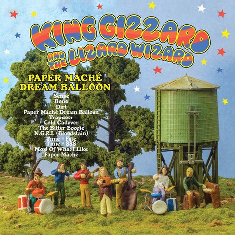 King Gizzard & the Lizard Wizard - Paper Mache Dream Ballon