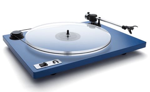 U-Turn - Orbit Plus Turntable - Blue (Built-in Preamp)